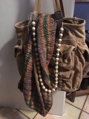 Sac bandoulière multicolore coton