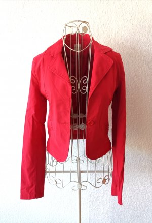 Style Sommer Jacke Rot