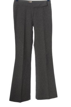 Style Spodnie materiałowe jasnoszary Melanżowy W stylu biznesowym