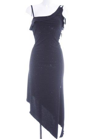 Style Trägerkleid schwarz Casual-Look