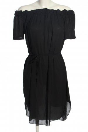 STYLEBOOM Blusenkleid schwarz Casual-Look