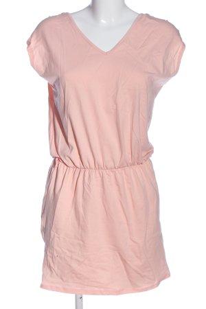 STYLEBOOM Kurzarmkleid pink Casual-Look