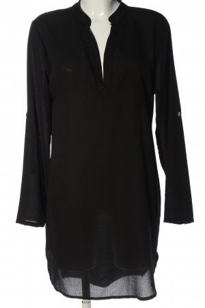 STYLEBOOM Long-Bluse schwarz Casual-Look