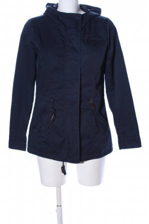 STYLEBOOM Parka blue casual look
