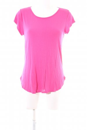 STYLEBOOM T-Shirt pink Casual-Look