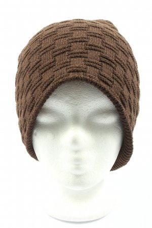 styleBREAKER Knitted Hat brown casual look
