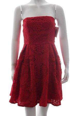 Stylestalker Sukienka bez ramiączek czerwony