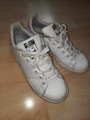 Adidas Sznurowane trampki biały