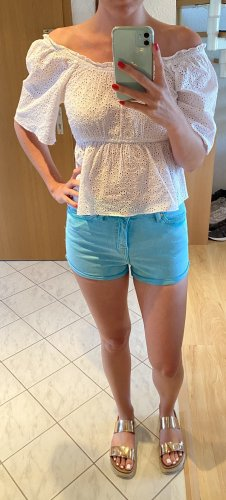 Stylische Blogger Highwaist topshop Shorts