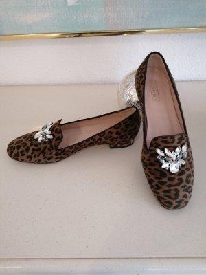 Claudia Obert Zapatos formales sin cordones negro-marrón