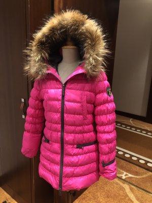 Eleven Elfs Down Jacket neon pink nylon