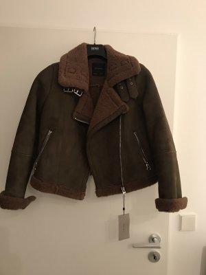 Stylische Doubleface Jacke Zara