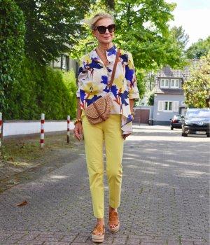 Stylische Gelbe Hose