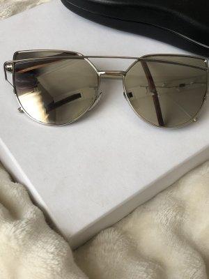Bijou Brigitte Pilotenbril grijs-zilver