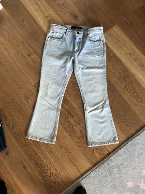 Alexander Wang 7/8 Length Jeans azure-light blue