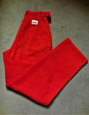 Denis Sport Corduroy Trousers red cotton