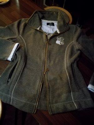 Stylische, hochwertige Fleece/Sweatjacke, Cardigan
