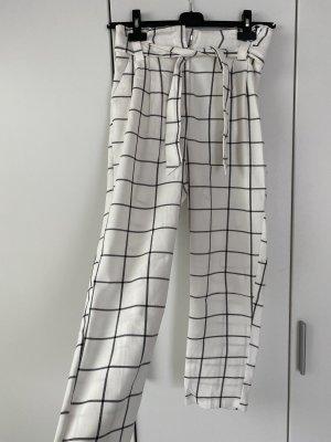 Primark 3/4 Length Trousers white-black