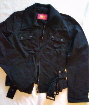Stylische Jacke Buffalo, Gr. S/M, schwarz, top Zustand
