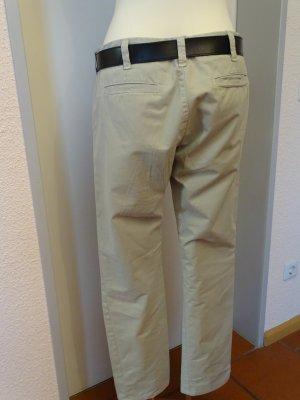 J brand Jeans a gamba dritta verde-grigio Cotone