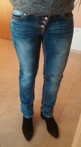 Stylische Jeans von Blue Monkey, Gr 28