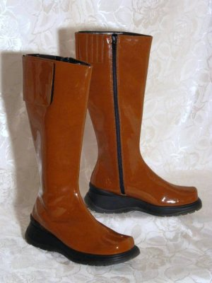Platform Boots brown