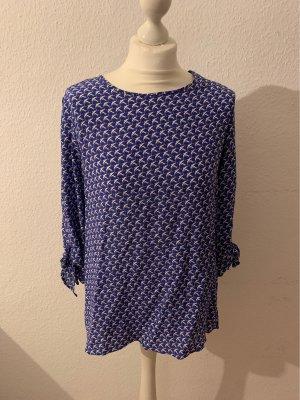 Rena Marx Zijden blouse veelkleurig