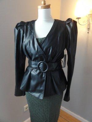 °°°Stylische Leder-Jacke, Tailliert, Fashion Nova, Neu°°°