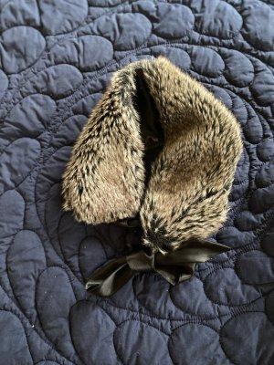 Stylische Mini-Stola in Fake-Fur