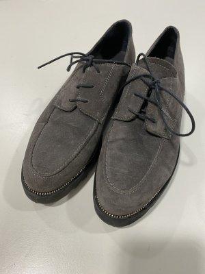 Andrea Manueli Lace Shoes multicolored leather