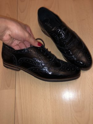 Varese Wingtip Shoes black leather