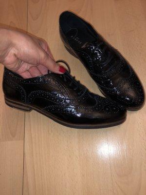 Varese Budapest schoenen zwart Leer