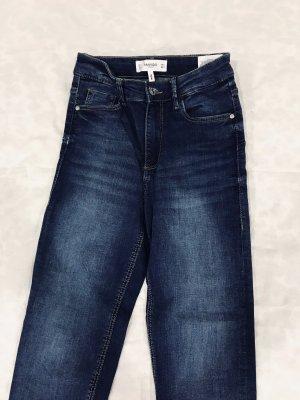 Stylische Skinny High Waist Jeans mit Waschung