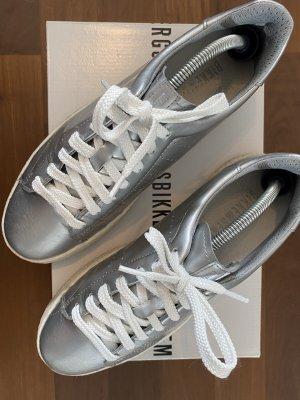 Bikkembergs Sneaker stringata argento-grigio chiaro