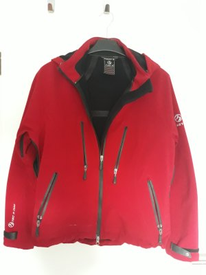 1st B Giacca softshell rosso scuro