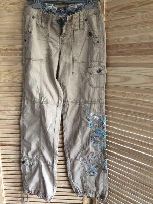 Cargo Pants beige-light blue