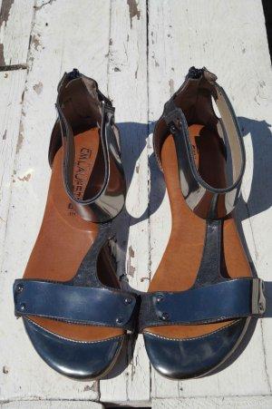 Cm Laufsteg Dianette sandalen zwart Gemengd weefsel