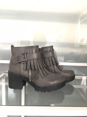 ideal shoes Bottines à plateforme multicolore