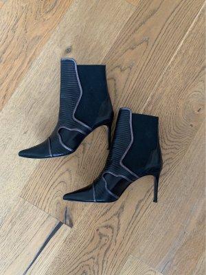 Rebeca Sanver Slip-on Booties black