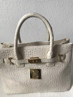 Stylische Tasche mit passender Kosmetiktasche zu verkaufen
