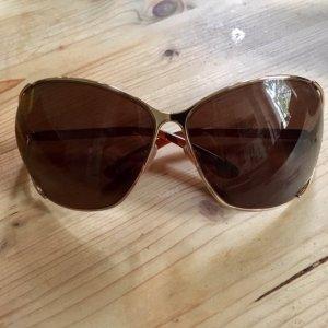 Tom Ford Retrobril bruin-zwart