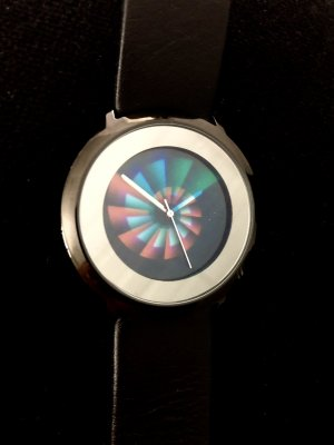 Colour Inspiration Watch With Leather Strap multicolored