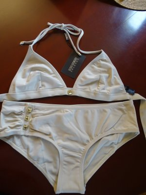 Georges Rech Bikini oatmeal-gold-colored polyamide