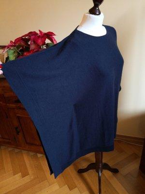 Apart Felpa kimono blu scuro Tessuto misto