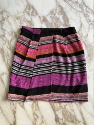 Missoni Minifalda multicolor tejido mezclado