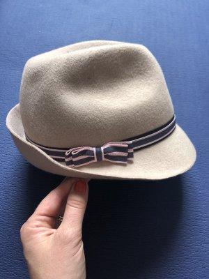 Marc Cain Wełniany kapelusz Wielokolorowy Wełna