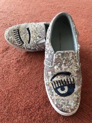 Chiara Ferragni Sneakersy wciągane Wielokolorowy Skóra