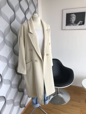 Zara Oversized Coat cream