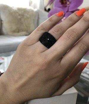 Stylischer Ring  in schwarz Gr.S; Neu Mit Etikett