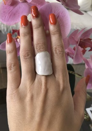 1.2.3 Paris Statement Ring gold-colored-white